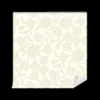 papier peint motifs motif de papier peint transparente avec des l ments floraux pixers. Black Bedroom Furniture Sets. Home Design Ideas
