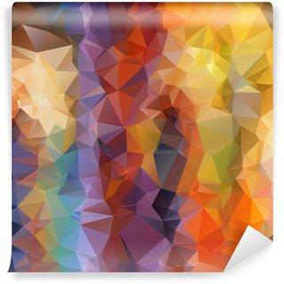 Papier Peint Vinyle Abstrait arrière-plan polygonal