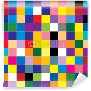 Papier Peint Vinyle Abstrait carré