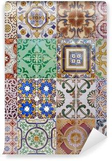 Papier Peint Vinyle Ajulejos muliticolor