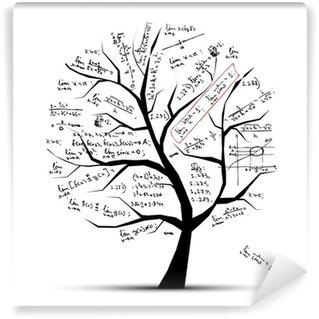 Papier Peint Vinyle Arbre de maths pour votre conception