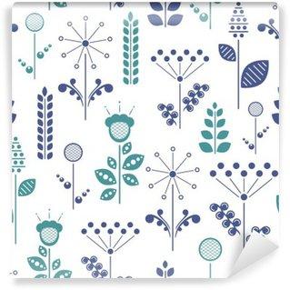 Papier Peint Autocollant Floral nordique