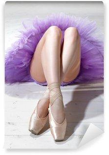 Papier Peint Vinyle Ballerine jambes