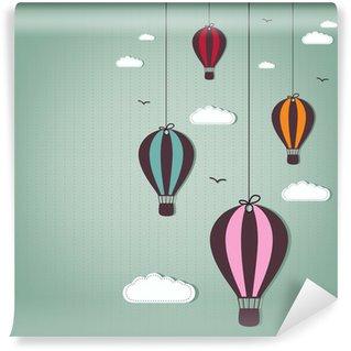 Papier Peint Vinyle Balloons hot air
