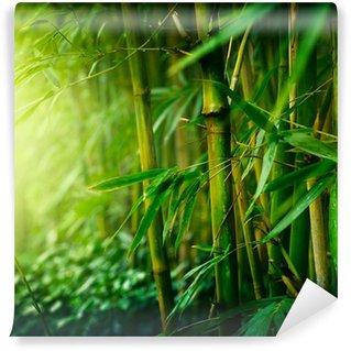 Papier Peint Vinyle Bambou