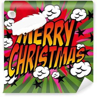 Papier Peint Vinyle Bandes dessinées de Noël