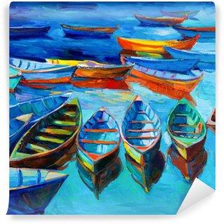 Papier Peint Vinyle Barques
