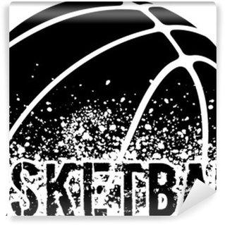 Papier Peint Vinyle Basketball Grunge