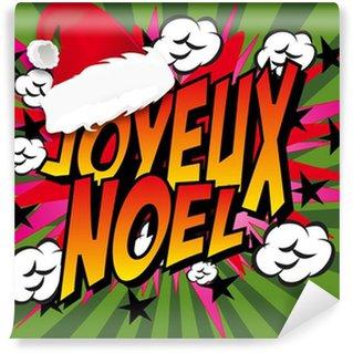 Papier Peint Vinyle BD Joyeux noel