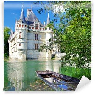 Papier Peint Vinyle Beau château Azey-le-redeau
