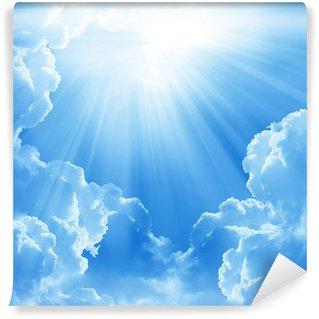 Papier Peint Vinyle Beaux nuages