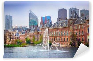 Papier Peint Vinyle Binnenhof Palace - Néerlandais Parlament à La Haye