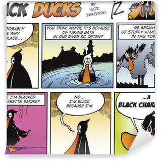 Papier Peint Vinyle Black Ducks Comics episode 67