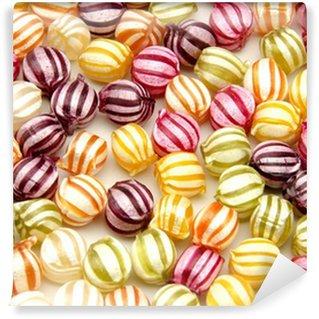 Papier Peint Vinyle Bonbons