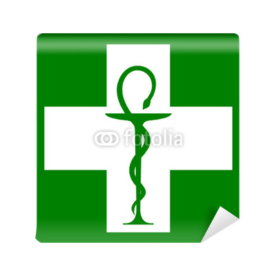 papier peint caduc e de pharmacie dans croix verte pixers nous vivons pour changer. Black Bedroom Furniture Sets. Home Design Ideas