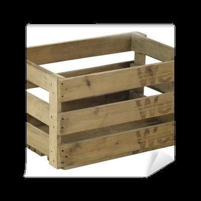 papier peint caisse de vin en bois pixers nous vivons pour changer. Black Bedroom Furniture Sets. Home Design Ideas