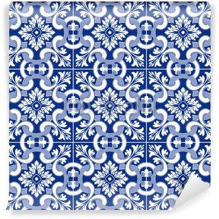 Papiers peints carreaux espagnol pixers nous vivons - Carrelage motif ancien ...