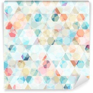 Papier Peint Vinyle Cellule diamant seamless