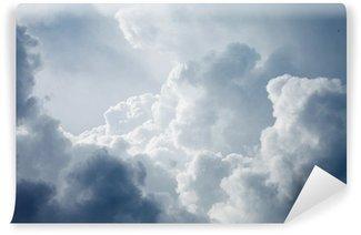 Papier Peint Vinyle Ciel dramatique avec des nuages orageux