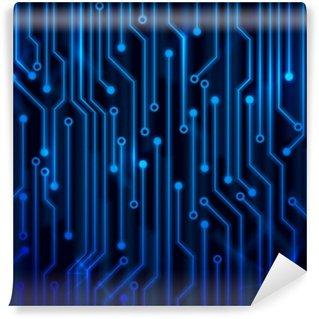 Papier Peint Vinyle Circuit