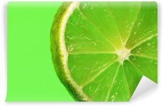 Papier Peint Vinyle Citron vert