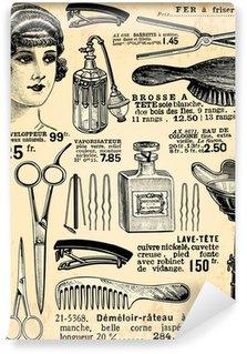 Papier Peint Vinyle Coiffeur pour dames