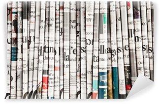 Papier Peint Vinyle Collection de journaux