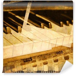 Papier Peint Vinyle Composition rétro