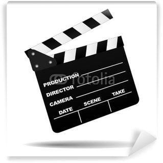 Papier Peint Vinyle Conseil clap de cinéma