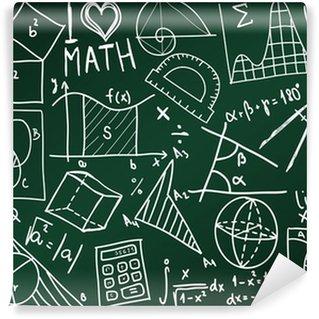Papier Peint Vinyle Conseil scolaire de mathématiques