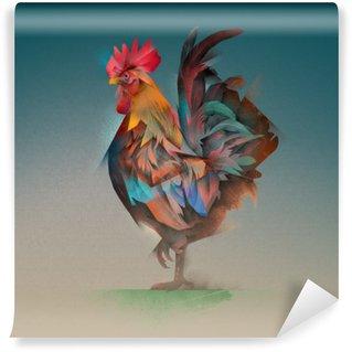 Papier Peint Vinyle Coq
