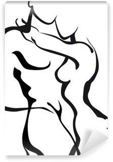 Papier Peint Vinyle Couples dans l'amour