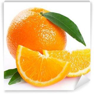 Papier Peint Vinyle D'orange frais
