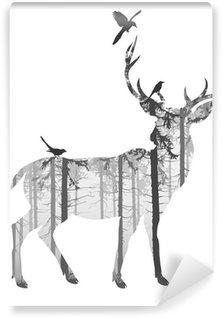 Papier Peint Vinyle deer