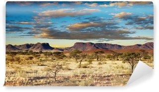 Papier Peint Vinyle Désert du Kalahari, en Namibie