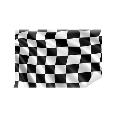 papier peint drapeau damier noir et blanc formule 1. Black Bedroom Furniture Sets. Home Design Ideas
