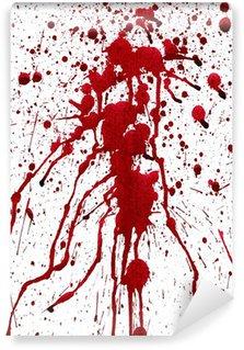 Papier Peint Vinyle Éclaboussures sanglantes
