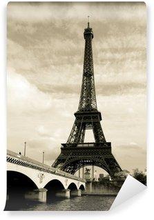 Papier Peint Vinyle Eiffel tower paris france