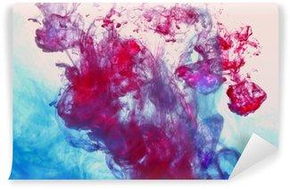 Papier Peint Vinyle Encre dans l'eau,.