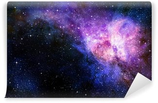 Papier Peint Vinyle Étoilé nebual profonde espace extra-atmosphérique et la galaxie