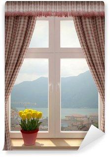 Papier Peint Vinyle Fenêtre avec une belle vue
