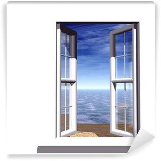 Papier Peint Vinyle Fenêtre Ouverte