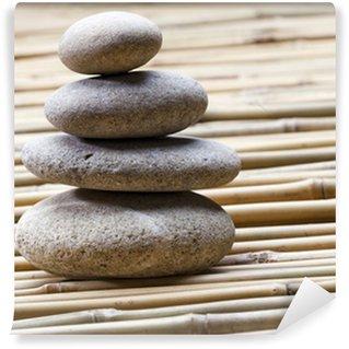 Papier Peint Vinyle Feng shui pierres