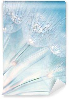 Papier Peint Vinyle Fleur de pissenlit abstraite