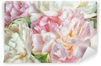 Papier Peint Vinyle Floraison des pivoines