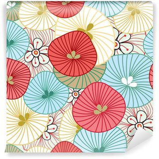 Papier Peint Vinyle Flower background