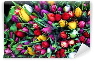 Papier Peint Vinyle Flowers35