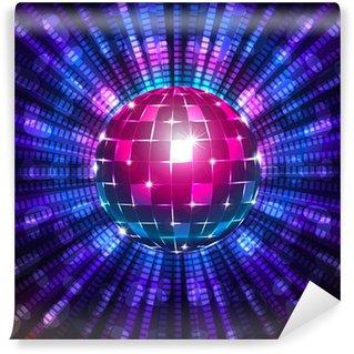 Papier Peint Vinyle Fluorescent boule disco
