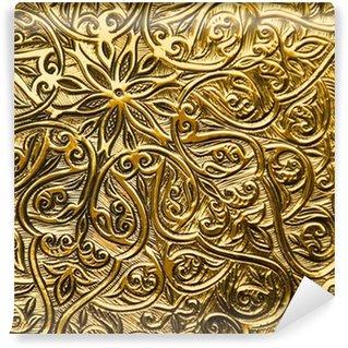 Papier Peint Vinyle Fond avec des ornements orientaux