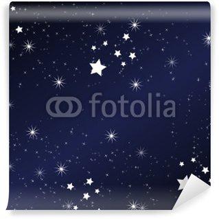 Papier Peint Vinyle Font nuit étoilée